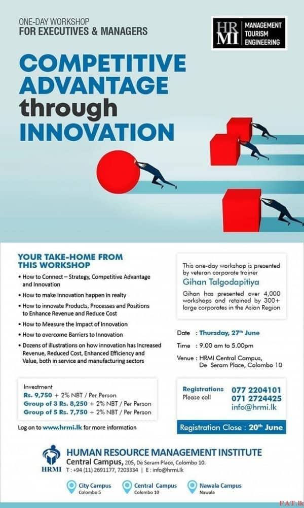 Competitive Advantage Through Innovation