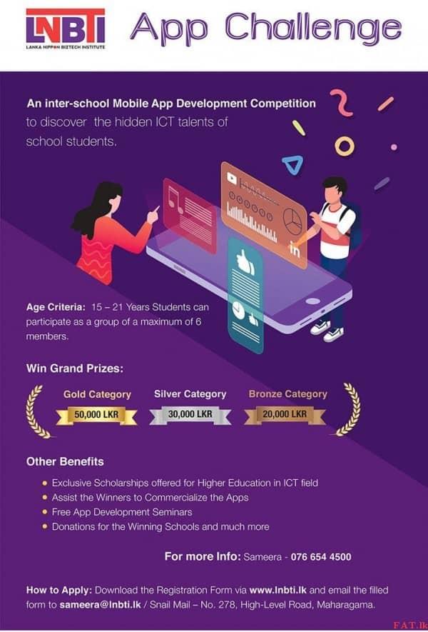 Inter-School Mobile App Development Competition