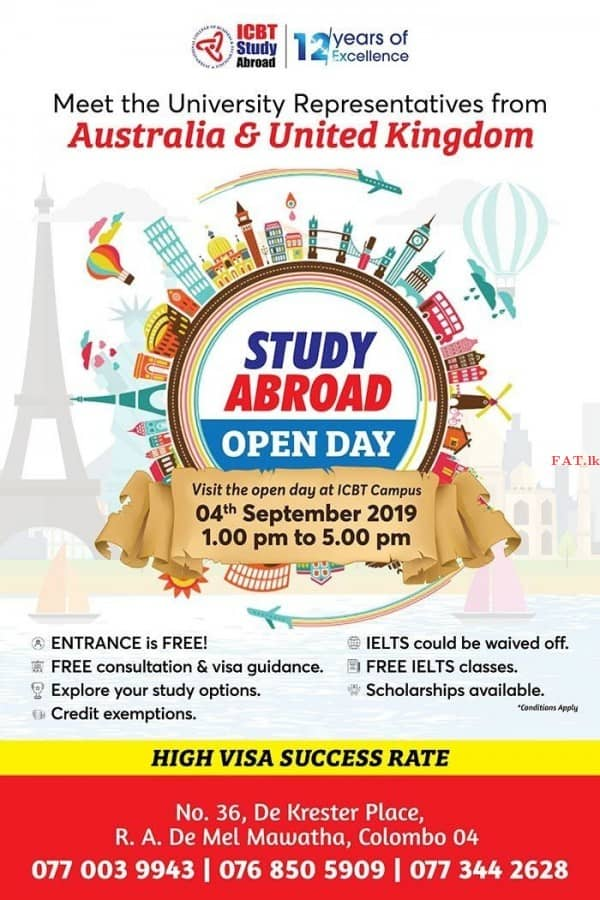 Study Abroad Open Day 2019