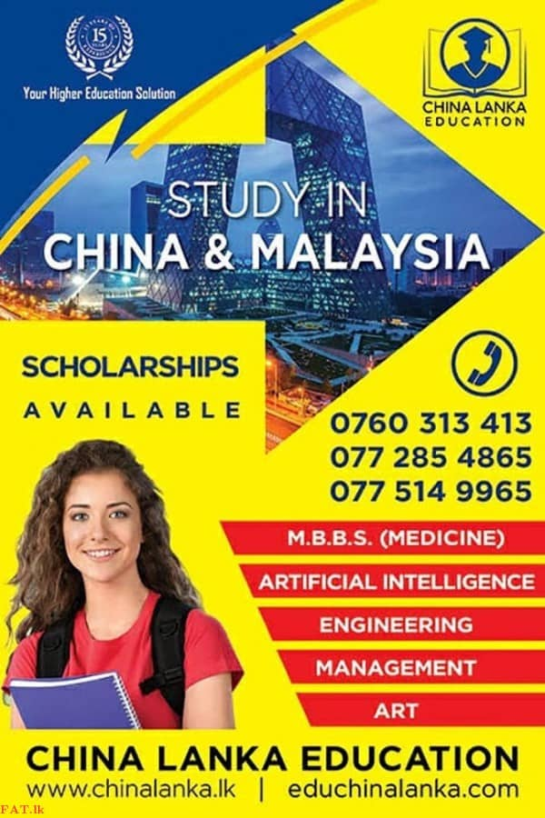 Study in China and Malaysia