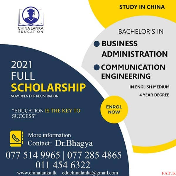 Schloarships to study in China