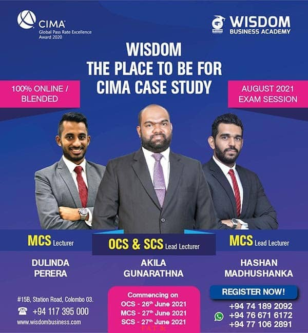 Wisdom - The place to be for CIMA Case Study