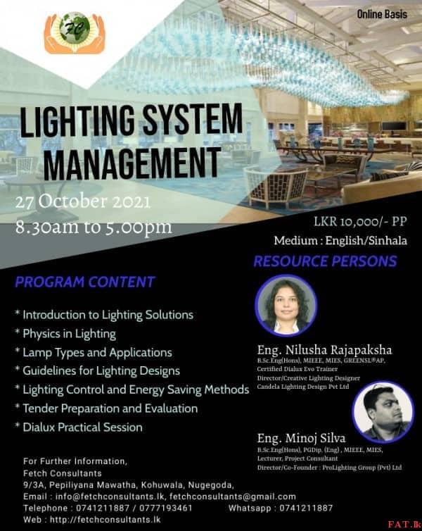 Lighting System Management