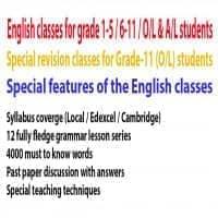 English for grade 6-11