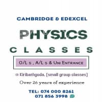 Physics classes Cambridge AL OL