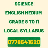 OL Science English Medium