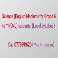 OL Science English Medium