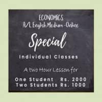 GCE AL Economics English medium