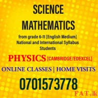 Science Physics Mathematics