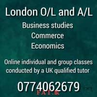 London O/L A/L classes