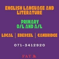English Literature and English Language Classes - Cambridge, Local and Edexcel Curriculums