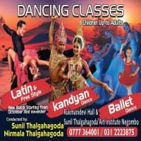 නර්ථන පන්ති - උඩරට, බටහිර, බැලේ, Ballroom, Latin & Free style dance