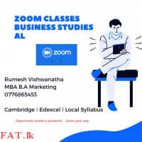 Business Studies - Cambridge and Edexcel O/L and AS, A/L - A/L Local syllabus