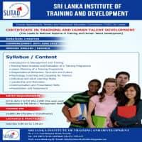 Sri Lanka Institute of Training & Development - SLITAD