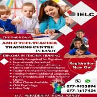 AMI Montessori & TEFL Teacher Training at Kandy