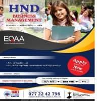 HND - Business Management - Finance, Marketing, HRM