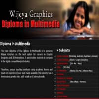Graphic designing courses at Wijeya Graphics