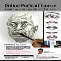 Live Sketching Portrait Course - Battaramulla