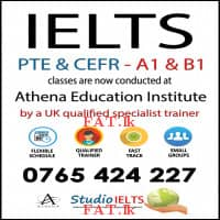 IELTS classes for general and academic examinations conducted by a UK qualified, experienced pro