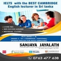 National & Cambridge English Language Grade 4 to OL, Spoken English, IELTS (Band 5 - 9)