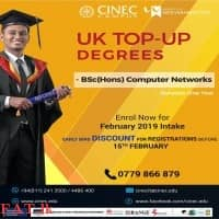 UK Top-up Degrees (One Year) - Malabe