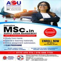 Executive MSc - Supply Chain Management