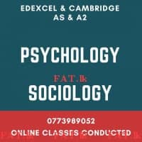 The Most Experienced Psychology and Sociology Teacher (Online Classes Conducted)