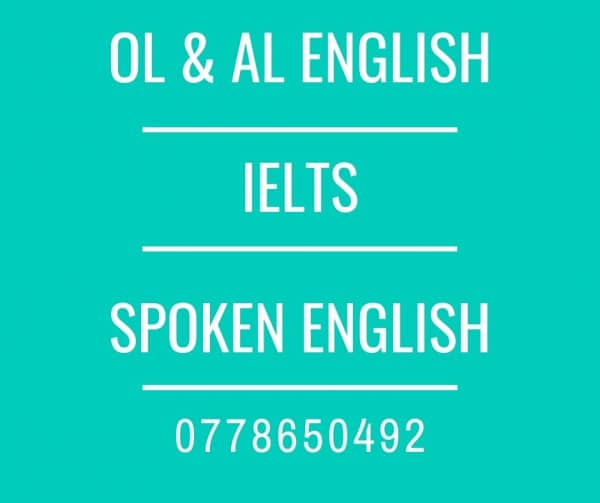 Individual Private IELTS Classes, Spoken English, OL and AL English classesm1