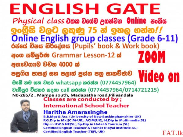 English for grade 6-11m1