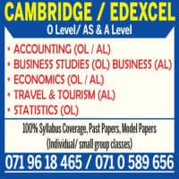 Accounting and Business Studies (A/L, O/L)
