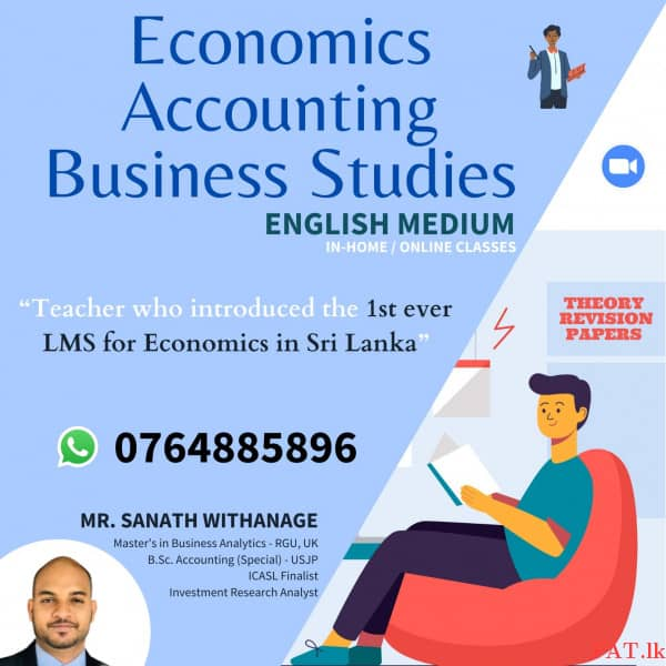 Economics Advanced Level (Theory / Revision / Paper Classes) - 1st Day for Freem1