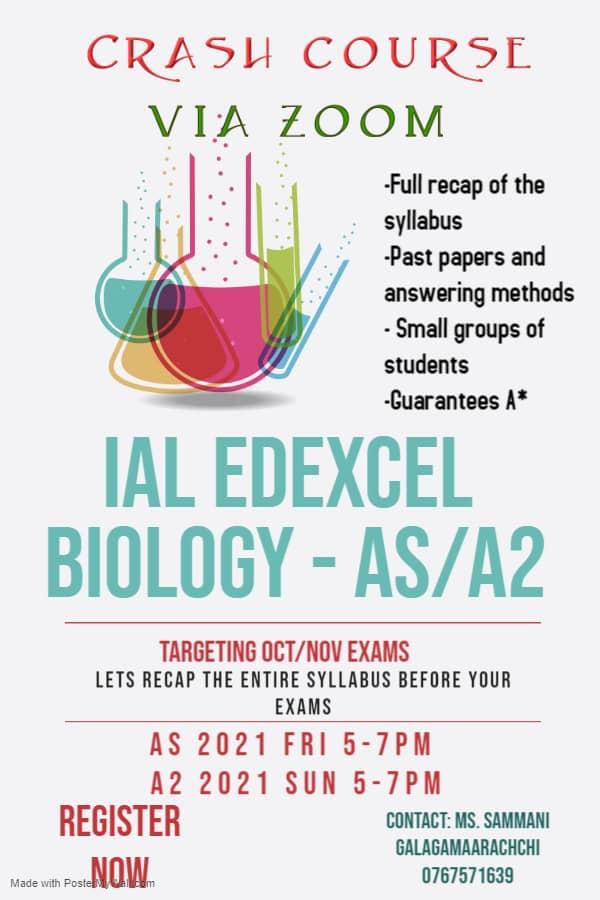 IGCSE & CIE Biology, Chemistry, Physics, IAL biology & IGCSE edexcel single award sciencesmt1