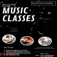 Music Classes for 1 - 13