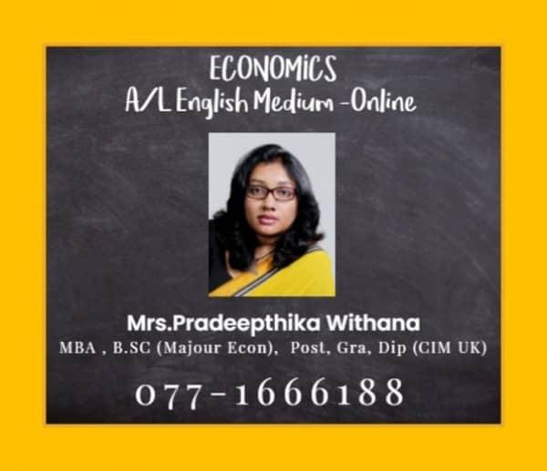 Economics English Medium A/Lmt1