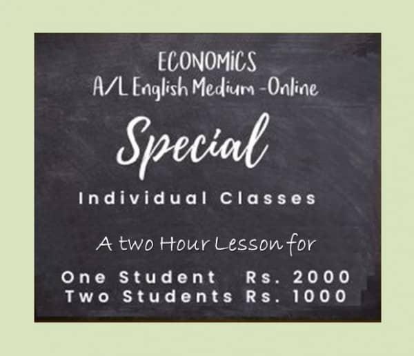 Economics English Medium A/Lmt2