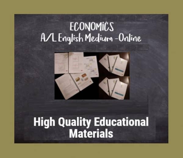 Economics English Medium A/Lmt3