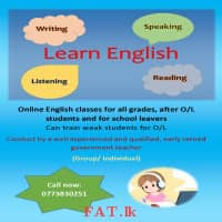 English for all grades and school leavers