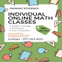 Online Individual Maths Tuition Classes for Primary Students