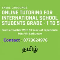 Tamil Tuition For International School Students