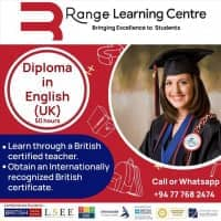 Diploma in English (UK) - 50 hours