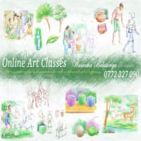 Art Teacher - Primary, Upper School, O/L, A/L, University Aptitude Exams (Architecture, Aesthetic), Art Lovers