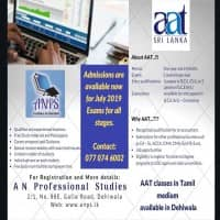AAT - Tamil Medium Classes available in Colombo