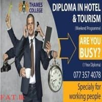 Thames College - Leader in Hospitality & Tourism Education