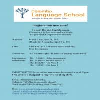 Full-time and part-time English courses with foreign and local teachers