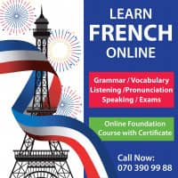 Profile French and English for Beginners, Grade 1 - 13 (Cambridge, Edexcel, Local) and adults