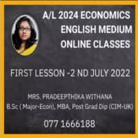 Profile Economics A/L English Medium